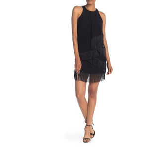 NWT - Joie Amiyah Fringe Sleeveless Sheath Dress